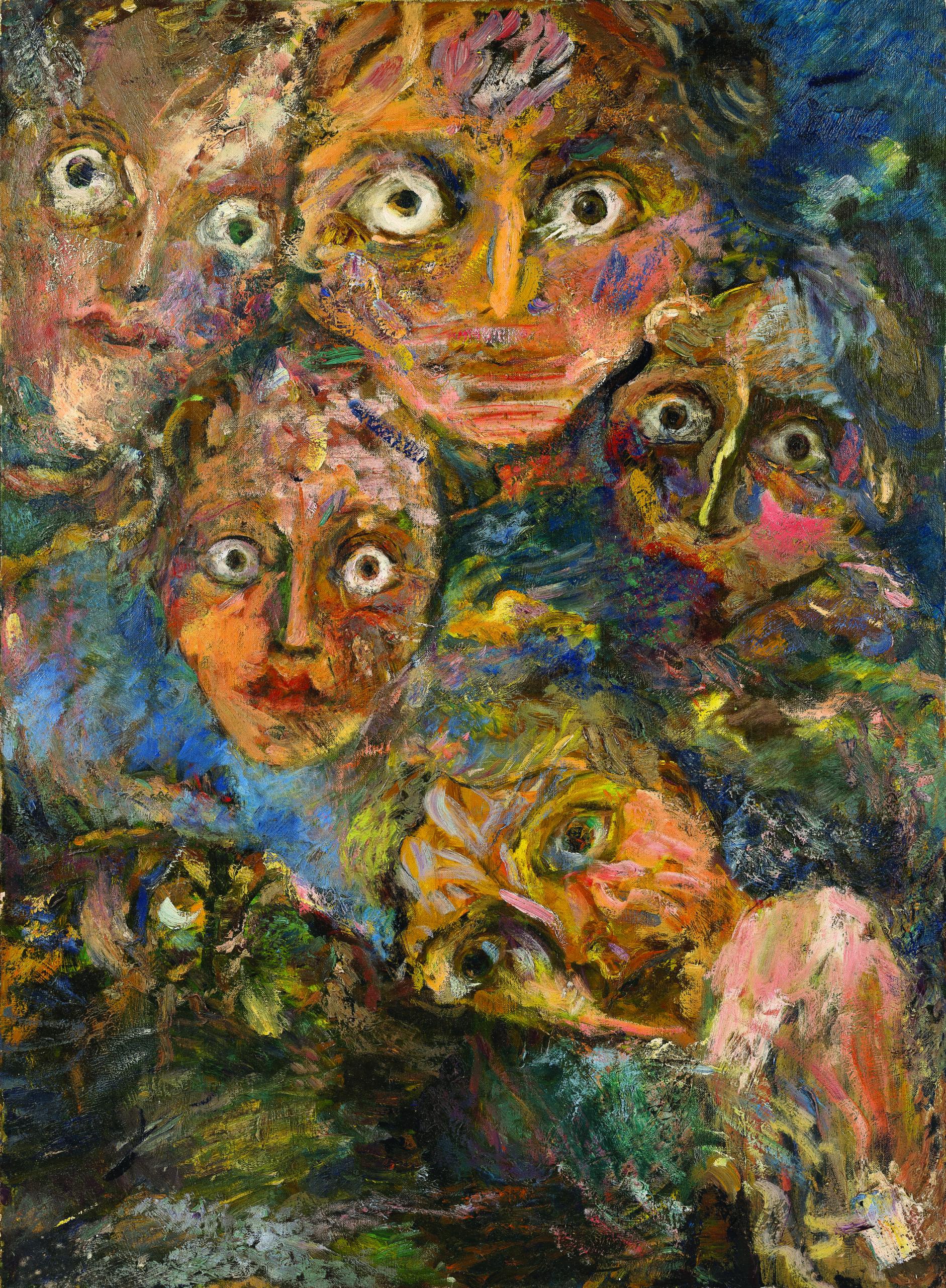 """<p><span style=""""font-size: 10pt;"""">Émile Alexandre, <em>Le songe II</em>, huile sur toile, 1964, 100 x 74 cm ©Caroline Dethier</span></p>"""